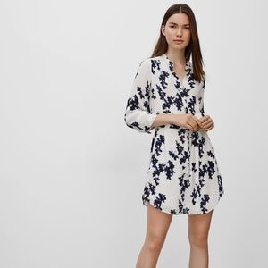 Aritzia Babaton Bennett 100% silk dress